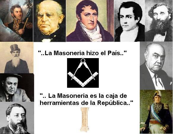 la masoneria hizo el pais